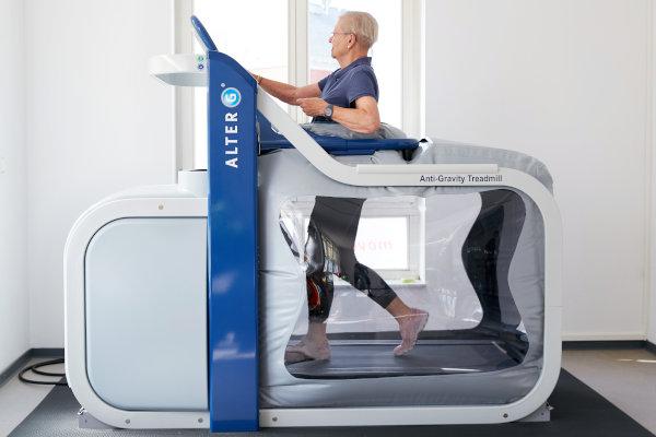 Anti-Schwerkraft-Laufband Alter G bei movendo