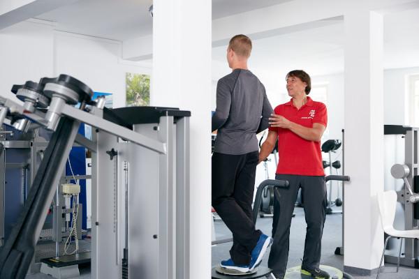 Medizinische Trainingstherapie bei movendo